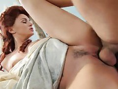 Tori Black sex in costume scene includes anal tubes