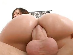 Wondrous wet anal with a big cock tubes