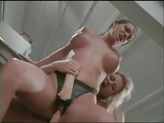 Lesbians in restaurant kitchen have hot sex tubes