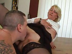 Mature in stockings loves a good fuck tubes