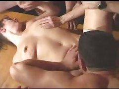 Gangbang of a mature squirting slut tubes