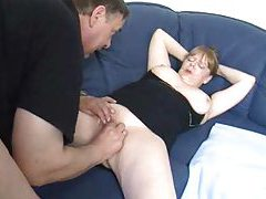 Old fat couple foreplay and fucking tubes