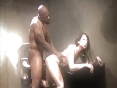 Blacks fuck Asians in the elegant video tubes