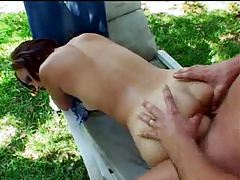 Outdoor sex with a redhead tubes