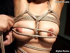 Extreme tied and bound slave bondage tubes