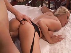 He bones the big tits blonde babe tubes