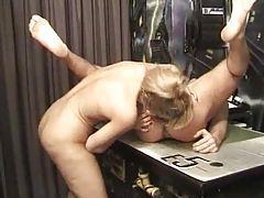 Hairy vagina fuck and she rims his ass tubes