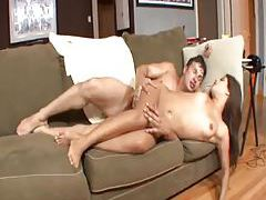 Big cock fucks a Latina in the ass tubes