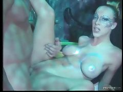 Perfect girl in sexy makeup fucked tubes