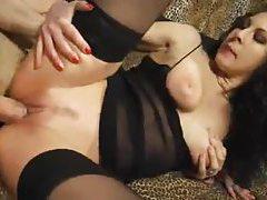 Big cock fucks the stockings girl where she needs tubes