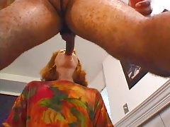 Mature redhead loves this fresh black cock tubes