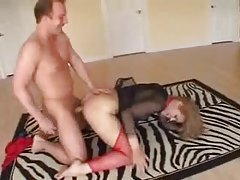 Aggressive sex with girl in slutty lingerie tubes