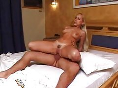 She has a hot body and he nails her hard tubes