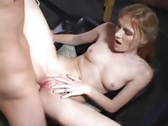 Young redhead loves the anal sex tubes
