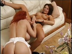 Milfs with big titties eat and toy fuck tube