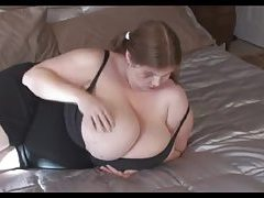 Fat cutie has giant boobs tube