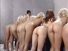 Lesbian orgy is a mass of hotties tubes