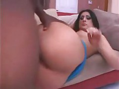 Big ass Luscious Lopez loves black cock tubes