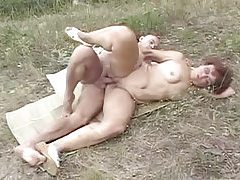Mature fucking in the dirt outdoors tubes