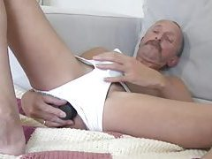 Dildo Daddy Jerking Off tubes
