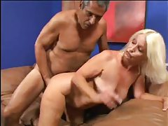 Fat old granny is lusty for his big cock tubes