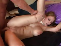 Lovely pussy fuck for cute blonde with big ass tubes