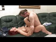 Amputee fucks a sexy redhead tubes