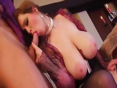 Her big tits are irresistible to horny guy tubes
