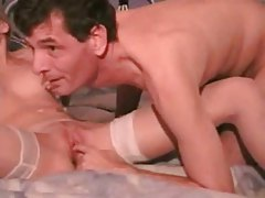 Hot sex from behind with his blonde wife tubes