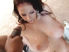 Gianna Michaels in cumshot bukkake video tubes