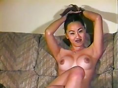 Amateur Asian in casting couch scene tubes