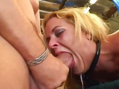 Lots of face fucking and messy gagging tubes