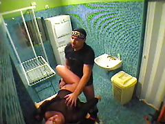 Couple banging in bathroom voyeur video tubes