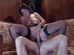 Incredible milf gives him her hot ass tubes