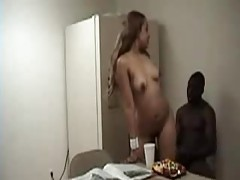 Black guy wants his GF to ride him tubes