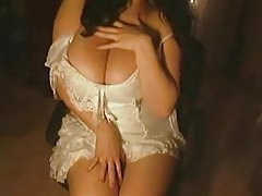 White lingerie tease from amateur girl tubes