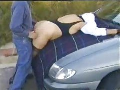 Several clips of this slut out dogging tubes