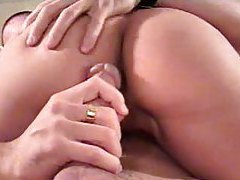 Riding cock with her tight young cunt tubes