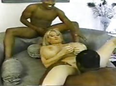 Two black guys fuck huge titty blonde slut tubes