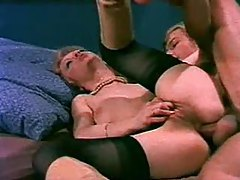 Incredible vintage scene with anal sex tubes