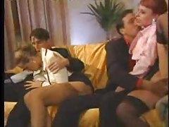 Glamorous Italian babes in orgy scene tubes