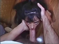 Putting cock in that asshole makes her moan tubes