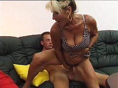 Fucking his aunt with his big cock tubes