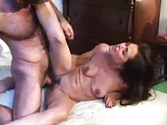 Skinny chick with small tits fucked by a stud tubes