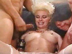 Hot cumshots drench a naughty slut tubes