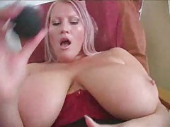 Suction fun with big titty blonde slut tubes