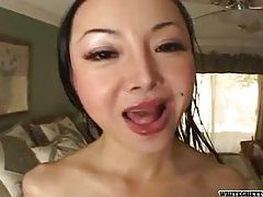 POV with that big titty Asian whore tubes
