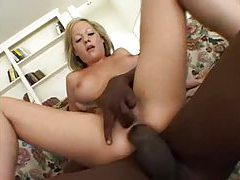Butt fucking a slut with a black cock tubes