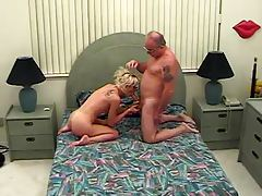 Young Horny Slut Sucking Old Mans Cock tubes