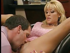 Foreplay with blonde includes a footjob tubes